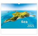 Kalendář nástěnný 2021 - Sea