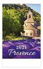 Kalendář nástěnný 2021 - Provence