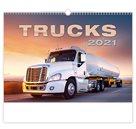 Kalendář nástěnný 2021 - Trucks