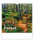 Kalendář nástěnný 2021 - Forest/Wald/Les