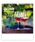 Kalendář nástěnný 2021 - Wine