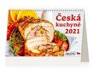 Kalendář stolní 2021 - Česká kuchyně