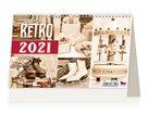 Kalendář stolní 2021 - Retro