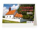 Kalendář stolní 2021 - Z český luhů a hájů