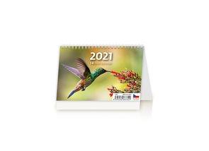 Kalendář stolní 2021 - MINI 14denní kalendář