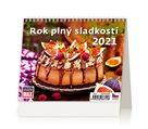 Kalendář stolní 2021 - MiniMax Rok plný sladkostí