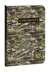 Školní diář Student 2021/22 - Military