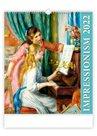 Kalendář nástěnný 2022 Exclusive Edition - Impressionism