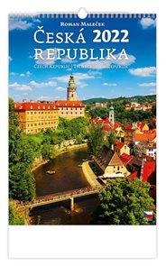 Kalendář nástěnný 2022 - Česká republika/Czech Republic/Tschechische Republik