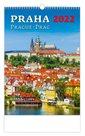 Kalendář nástěnný 2022 - Praha/Prague/Prag
