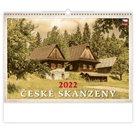 Kalendář nástěnný 2022 - České skanzeny