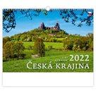 Kalendář nástěnný 2022 - Česká krajina