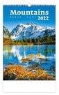 Kalendář nástěnný 2022 - Mountains/Berge/Hory