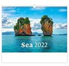 Kalendář nástěnný 2022 - Sea