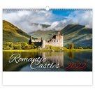 Kalendář nástěnný 2022 - Romantic Castles