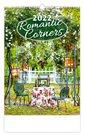 Kalendář nástěnný 2022 - Romantic Corners