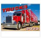 Kalendář nástěnný 2022 - Trucks