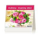 Kalendář stolní 2022 - MiniMax Květiny/Kvetiny