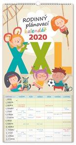 Rodinný plánovací kalendář 2020 nástěnný XXL