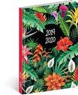 Diář 18měsíční 2019/2020 Petito – Tropic