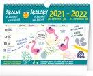 Školní plánovací kalendář 2021/2022 s háčkem, 30 × 21 cm