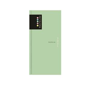 Oxybag Diář 2021 B6 týdenní úzký - PASTELINi zelená