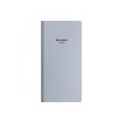 Oxybag Diář 2022 PVC kapesní měsíční - Metallic stříbrná