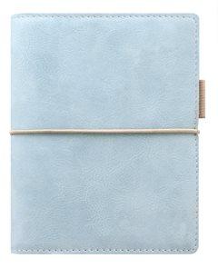 Filofax Kroužkový diář 2019 Domino Soft kapesní - pastelově modrý