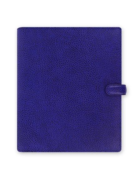 Filofax Kroužkový diář 2021 Finsbury A5 - modrý - 234 x 203 x 45 mm