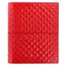 Filofax Kroužkový diář 2019 Domino Luxe A5 - červený