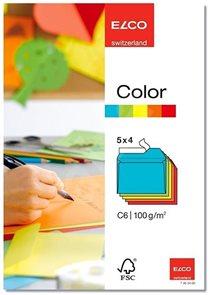 Obálky ELCO Color C6 20 ks mix barev