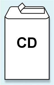 Bublinková obálka samolepicí s páskou na CD 180x165 mm