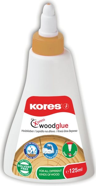 Kores Lepidlo na dřevo Wood Glue - 125 ml
