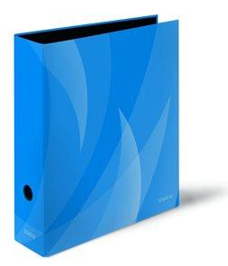 PP Pořadač pákový A4 Shadow 8cm - modrá