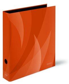 PP Pořadač pákový A4 Shadow 8cm - oranžová