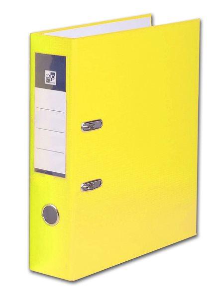 PP Pákový pořadač plastový A4 PP 7cm - žlutý