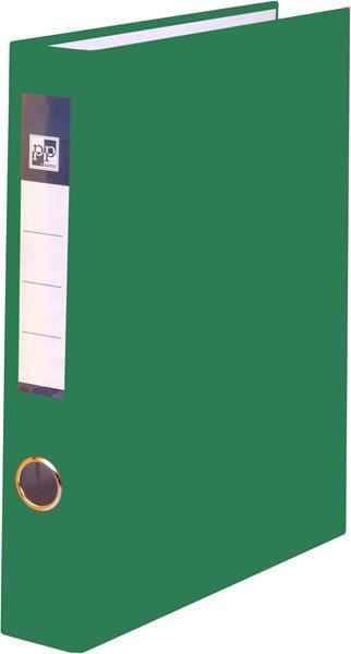 PP 4 kroužkový pořadač plastový A4 PP 4cm - zelený
