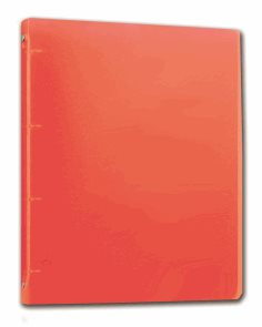 PP Pořadač 4kroužek Opaline A4 2cm - červená