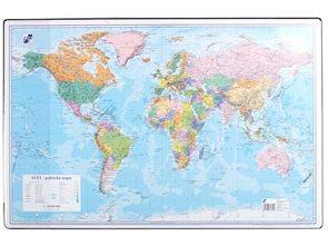 Podložka na stůl 60 × 40 cm - mapa Svět
