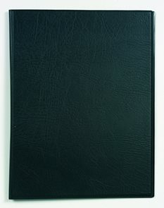Desky A4 s rychlosvorkou u hřbetu - černá