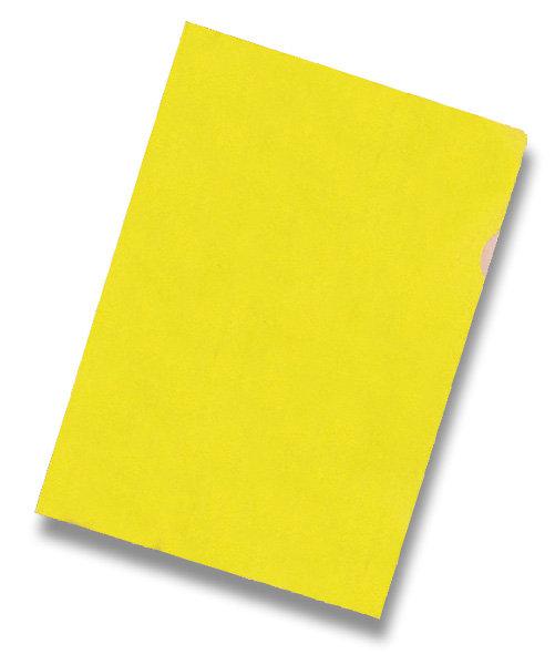 """Zakládací obal """"L"""" A4 PVC 150 mic 10 ks - žlutý"""