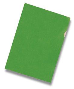 """Zakládací obal """"L"""" A4 PVC 150 mic 10 ks - zelené"""