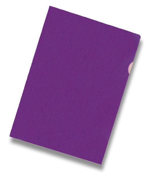 """Zakládací obal """"L"""" A4 PVC 150 mic 10 ks - fialové"""