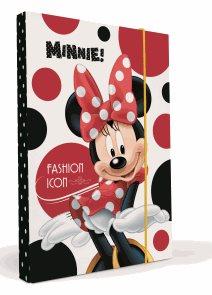 Karton PP Desky na sešity s boxem A4 - Minnie vzor 2013