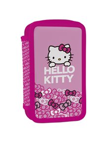 Školní penál - Hello Kitty - 2 patrový
