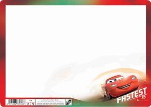 Karton PP Tabulka na psaní - Cars