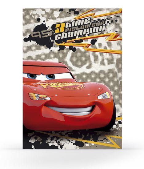 Karton PP Kreslící blok A4 - Cars