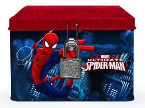 Karton PP Pokladnička plechová - Spiderman 2015