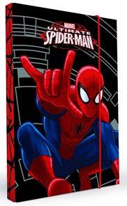 Karton PP Desky na sešity s boxem A5 - Spiderman 2014