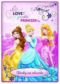 Karton PP Desky na abecedu - Princezny